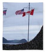 Atlantic Charter Site Fleece Blanket