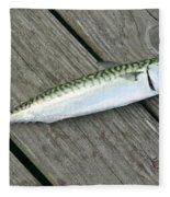 Atlantic Mackerel Scomber Scombrus Fleece Blanket