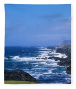 Atlantic Ocean, Achill Island, Looking Fleece Blanket