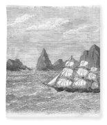 Atlantic: St. Pauls Rocks Fleece Blanket