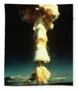 Atomic Testing Fleece Blanket