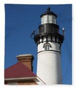 Au Sable Lighthouse 6 Fleece Blanket