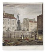 Augsburg, 1823 Fleece Blanket