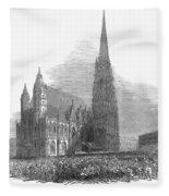 Austria: 1848 Revolution Fleece Blanket