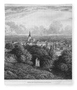 Austria: Baaden, 1822 Fleece Blanket