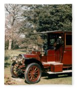 Auto: French Taxi, 1908 Fleece Blanket