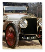 Auto: Hispano-suiza, 1912 Fleece Blanket