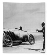 Auto Racing, 1910 Fleece Blanket