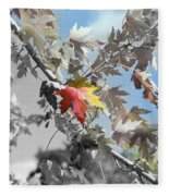 Autumn Beauty Fleece Blanket