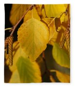 Autumn Birch In Southern Oregon Fleece Blanket