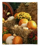 Autumn Bounty Fleece Blanket