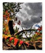 Autumn Breeze Through The Trees    Alt Fleece Blanket