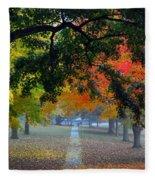 Autumn Canopy Fleece Blanket