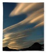 Autumn Clouds Jasper 1 Fleece Blanket