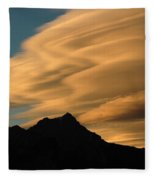 Autumn Clouds Jasper 2 Fleece Blanket