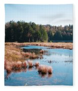 Adirondack Lake 2 Fleece Blanket