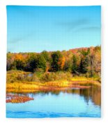 Adirondack Color 54 Fleece Blanket