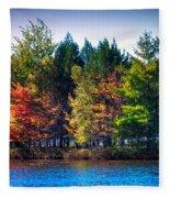 Adirondack Color 63 Fleece Blanket