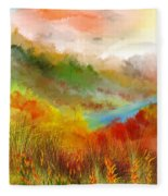 Autumn Daze Fleece Blanket