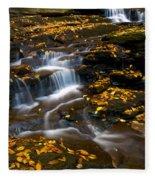 Autumn Falls - 72 Fleece Blanket