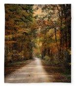Autumn Forest 3 Fleece Blanket