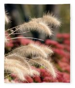 Autumn Garden Fleece Blanket