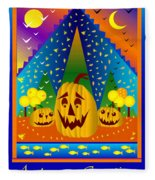 Autumn Greetings Fleece Blanket