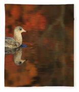 Autumn Gull Fleece Blanket
