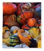 Autumn Harvest Fleece Blanket