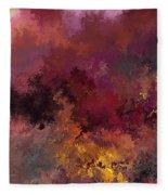 Autumn Illusions  Fleece Blanket