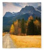 Autumn In The Rockies Fleece Blanket