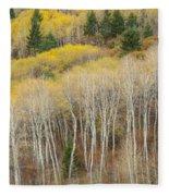 Autumn Layers Fleece Blanket