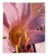 Autumn Lily Fleece Blanket