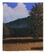 Autumn Meadow Fleece Blanket