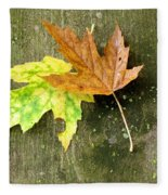Autumn Pair Fleece Blanket