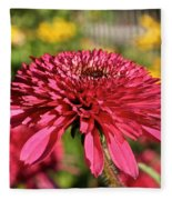 Autumn Pink Fleece Blanket