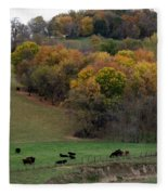 Autumn Range Fleece Blanket