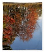 Autumn Reflections Fleece Blanket