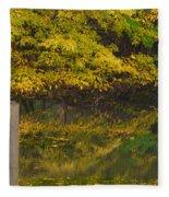 Autumn Reflections_0138 Fleece Blanket