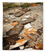 Autumn Rusted Fleece Blanket