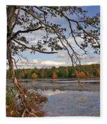 Autumn Shade Fleece Blanket