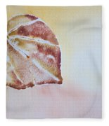 Autumn Shimmer Fleece Blanket
