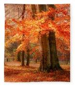autumn skirt I Fleece Blanket