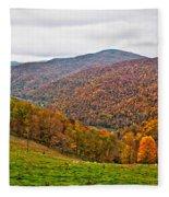 Autumn Song Fleece Blanket