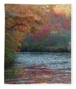 Autumn Splendor 1 Fleece Blanket