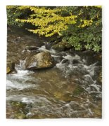 Autumn Stream 6149 Fleece Blanket