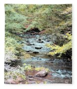 Autumn Streams Fleece Blanket