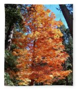 Autumn Tree Fleece Blanket