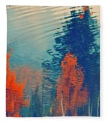 Autumn Vision Fleece Blanket