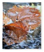Autumn Waters Fleece Blanket